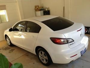 Mazda Car Tinting