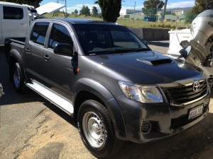 Hilux Car Tinting
