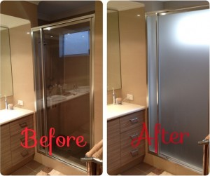 Bathroom Frosted Tinting